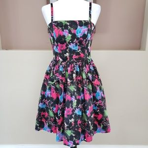 Betsey Johnson Fit & Flare Floral Dress
